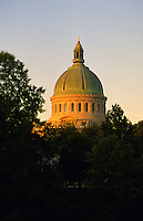 """Annapolis, Maryland --The historic Chapel at the United States Naval Academy, has a high dome visible throughout the City of Annapolis. The Chapel contains thecrypt of naval commander John Paul Jones, the famous Revolutionary War herowhose words, """"I have not yet begun to fight"""" are so often quoted."""