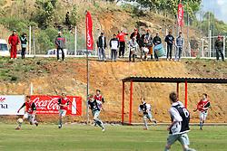 Lance da partida entre as equipesProjeto CAE e Atletico RS válida pela copa Coca-Cola, no estadio Candido de Menezes, neste sabado 10/09/2011, em Porto Alegre. FOTO: Marcos Nagelstein/Preview.com