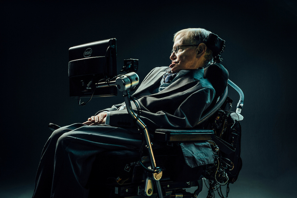 Theoretical physicist Professor Stephen Hawking