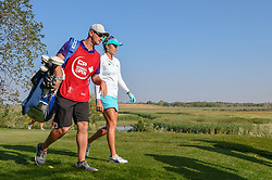 August 23, 2018 - Regina, SK, U.S. - REGINA, SK - AUGUST 23: Lexi Thompson (USA) heads down 12 during the CP Women's Open Round 1 at Wascana Country Club on August 23, 2018 in Regina, SK, Canada. (Photo by Ken Murray/Icon Sportswire) (Credit Image: © Ken Murray/Icon SMI via ZUMA Press)