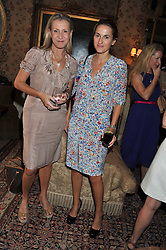 Left to right, HELEN GREEN and CHRISTINE D'ORNANO at a lunch in aid of the charity Kids Company held at Mark's Club, 46 Charles Street, London on 3rd October 2011.