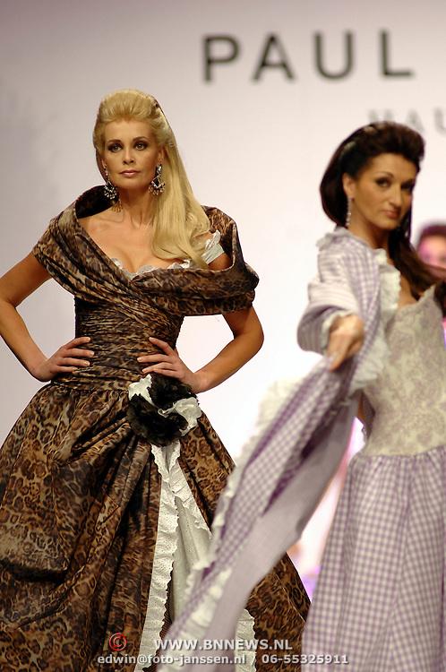 NLD/Amsterdam/20070318 - Modeshow Paul Schulten zomer 2007, model, catwalk, mannequin