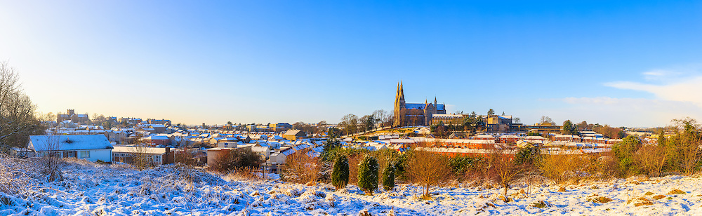 Had a nice shower of snow last night which has finally given Armagh the nice covering of snow that many other areas in Ireland already seem to have!<br />