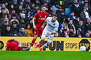 Leeds United midfielder Mateusz Klich (43) in action during the EFL Sky Bet Championship match between Leeds United and Bristol City at Elland Road, Leeds, England on 15 February 2020.