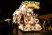 Indian Spirit by Key Kids Junior Carnival Club at Bridgwater Carnival, 2009. Third in the Juvenile Cart Class.