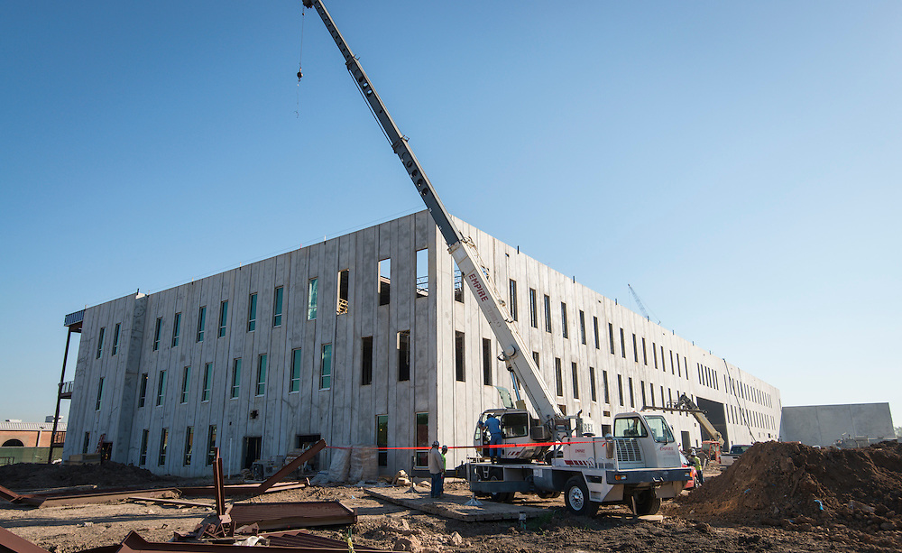 Construction at Sterling High School, October 16, 2015.