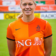 NLD/Velsen/20130701 - Selectie Nederlands Dames voetbal Elftal, Anouk Dekker