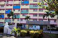 Lenin Hospital in Holguin, Cuba.