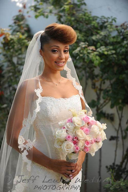 29 September 2013: Wedding of Khalil Abdul-Rahman and Yasmine Richard at the Bel Air Club in Pacific Palisades, CA.