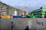 Duitsland, Potsdam, 23-7-2012Stadsbeelden van deze stad vlakbij Berlijn. Lag tot 1989 in de DDR, en was in 1945 de plek van de conferentie met Truman, Churchill en Stalin. Het bouwbedrijf BAM uit nederland renoveert een groot historisch gebouw in het centrum.Foto: Flip Franssen/Hollandse Hoogte