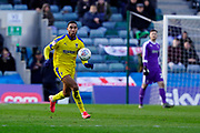Terell Thomas of AFC Wimbledon in action during the EFL Sky Bet League 1 match between Gillingham and AFC Wimbledon at the MEMS Priestfield Stadium, Gillingham, England on 29 February 2020.