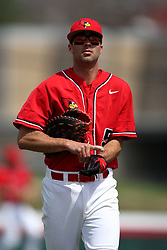 15 February 2007: Jesse Griswold. Indiana State Sycamores gave up the first game of the double-header by a score of 16-6 to the Illinois State Redbirds at Redbird Field on the campus of Illinois State University in Normal Illinois.