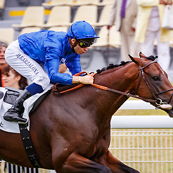 Piranedello (M. Barzalona) wins Prix de la Cote de Grace , Daeuville, France 01/07/2017, photo: Zuzanna Lupa / Racingfotos.com