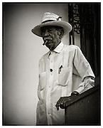 Old man with Cigar, Havana, Cuba.