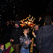 London, England, UK. 16th November 2017. Guests attend the VIP launch of Hyde Park Winter Wonderland 2017 for a preview. tomorrow is opening for the public