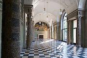 Kurhaus innen, Muschelsaal, Wiesbaden, Hessen, Deutschland | Kurhaus interior, Wiesbaden, Hesse, Germany