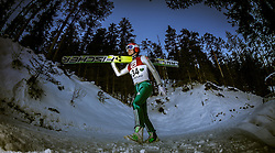 13.12.2013, Nordische Arena, Ramsau, AUT, FIS Nordische Kombination Weltcup, Skisprung Training, im Bild Manuel Faisst (GER) // Manuel Faisst (GER) during Ski Jumping Training of FIS Nordic Combined World Cup at the Nordic Arena in Ramsau, Austria on 2013/12/13. EXPA Pictures © 2013, EXPA/ JFK