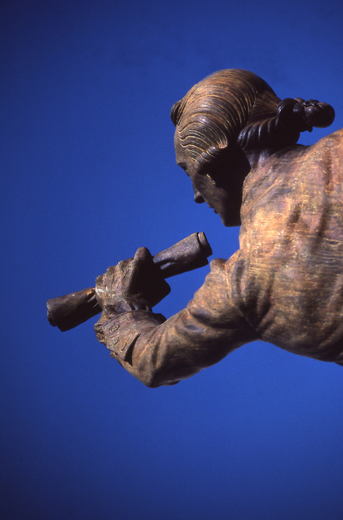 """The Signer"" Bronze Statue, Independence National Historic Park, Philadelphia, PA"