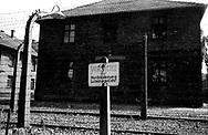 Auschwitz, former Nazi death camp, in Oswiecim, Poland's Nazi-era concentration camp..