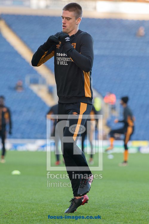 Markus Henriksen of Hull City warms up ahead of during the FA Cup match between Blackburn Rovers and Hull City<br /> Picture by Matt Wilkinson/Focus Images Ltd 07814 960751<br /> 06/01/2018