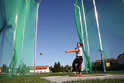 Sanja Gavrilovic  at Athletic National Championship of Slovenia, on July 19, 2008, in Stadium Poljane, Maribor, Slovenia. (Photo by Vid Ponikvar / Sportal Images).