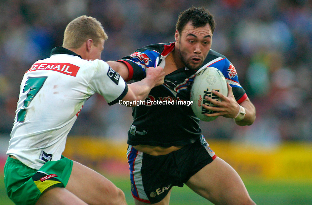 15th September, 2002. NRL Fourth Qualifying Final. Ericsson Stadium, Auckland, New Zealand. <br />