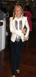 ALICE BAMFORD at a party hosted by Elizabeth Saltzman and Harvey Nichols to celebrate the UK launch of New York fashion designer Tory Burch held at the Fifth Floor Restaurant, Harvey Nichols, Knightsbridge, London on 24th May 2006.<br /><br />NON EXCLUSIVE - WORLD RIGHTS
