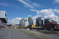 The Oslo, Norway, skyline is evolving with construction visible in many places around the city on May 10, 2013. (© 2013 Cindi Christie)