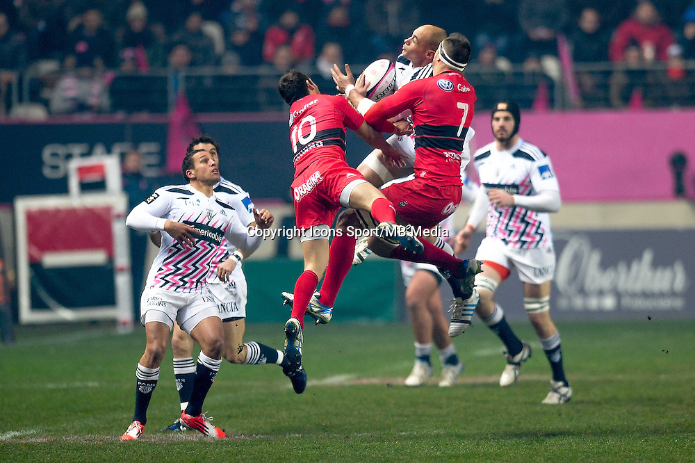 Sergio Parisse - 28.12.2014 - Stade Francais / Racing Club Toulon - 14eme journŽe de Top 14<br />