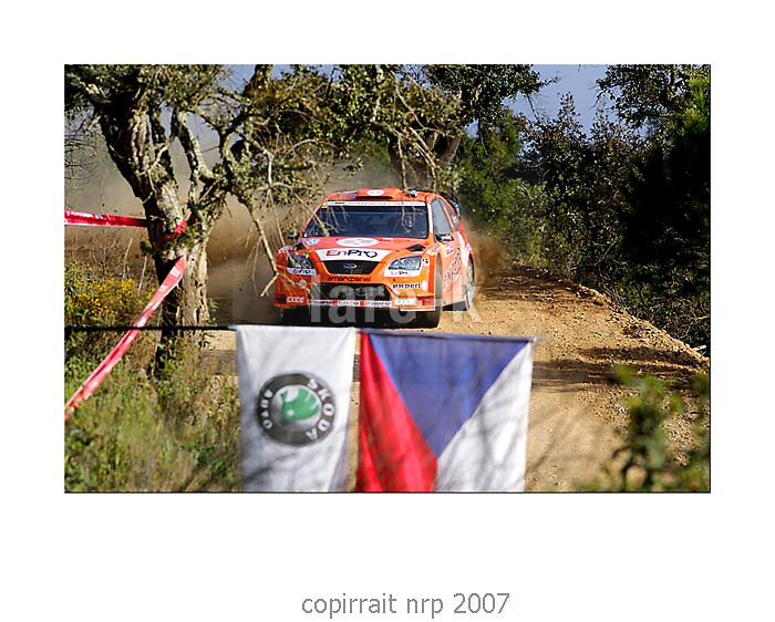 WRC PORTUGAL 2007 HENNING SOLBERG<br />