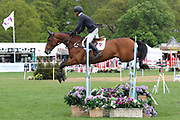 Ryuzo Kitajima (JPN) riding Feroza Nieuwmoed during the International Horse Trials at Chatsworth, Bakewell, United Kingdom on 11 May 2018. Picture by George Franks.