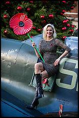 Nov 01 2012-Nell McAndrew Kicks off Poppy Day