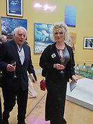 MICHAEL SANDL; RA; ELEESA DADIANI, , Royal Academy of Arts Annual Dinner. Burlington House, Piccadilly. London. 6 June 2017