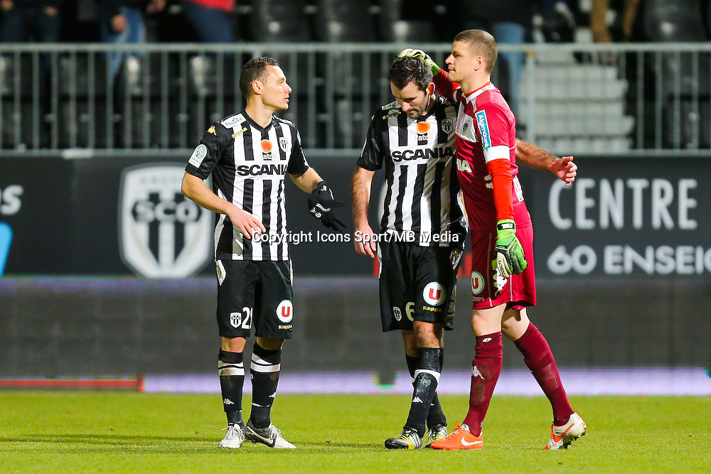 Deception Angers  - 26.01.2015 - Angers / Brest - 21eme journee de Ligue 2 -<br /> Photo : Vincent Michel / Icon Sport