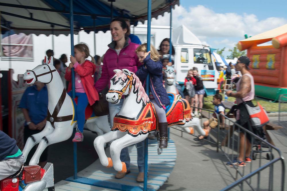 Fairground rides at the Canterbury A&amp;P Show, Christchurch, New Zealand, Friday, 13 November, 2015.<br /> Credit:SNPA / David Alexander