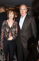 SIR PETER & LADY OSBORNE at a party hosted American House and Garden magazine with Tomasz Starzewski and Nina Campbell to celebrate the British Issue of the magazine, held at 14 Stanhope Mews West, London SW7 on 13th March 2005.<br />