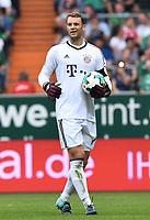 Torwart Manuel Neuer (Bayern)<br /> Bremen, 26.08.2017, Fussball Bundesliga, SV Werder Bremen - FC Bayern Muenchen 0:2<br /> Norway only