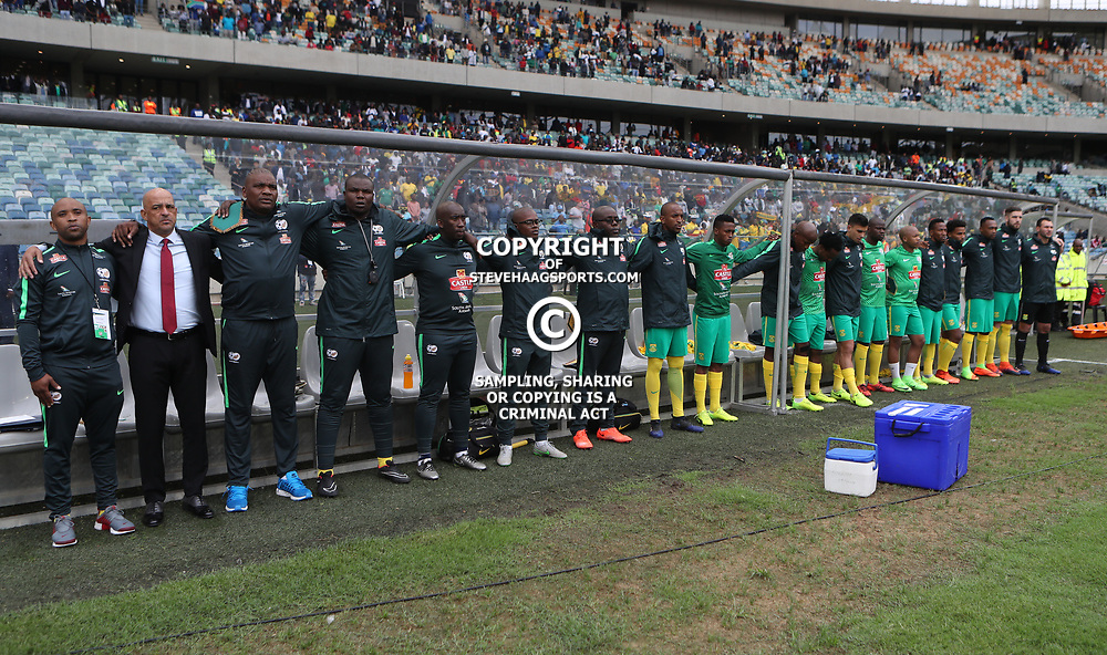 General views during the match between Bafana Bafana South Africa and Guinea-Bissau at Moses Mabhida Stadium in Durban South Africa,25 March 2017 (Steve Haag)