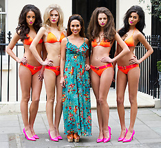 MAR 06 2013 Myleene Klass new swimwear collection