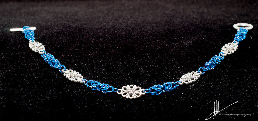 This gallery contains images of (chain mail) jewellery created by Paula Sepp-Schultz of Out of the Broom Closet
