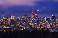 Vancouver, Night Illumination