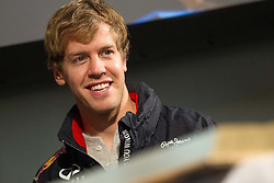 01.12.2012, Graz, AUT, Formel 1 Show Run in Graz im Bild Sebastian Vettel // during the Formel 1 Show Run in Graz, Austria on 2012/12/01. EXPA Pictures © 2012, PhotoCredit: EXPA/ M. Kuhnke