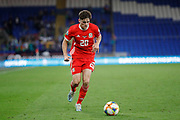 Wales midfielder Daniel James during the UEFA European 2020 Qualifier match between Wales and Azerbaijan at the Cardiff City Stadium, Cardiff, Wales on 6 September 2019.