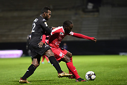 January 10, 2018 - Angers, France, France - COULIBALY Lassana (Angers) vs Jonathan Nanitamo Ikone  (Credit Image: © Panoramic via ZUMA Press)
