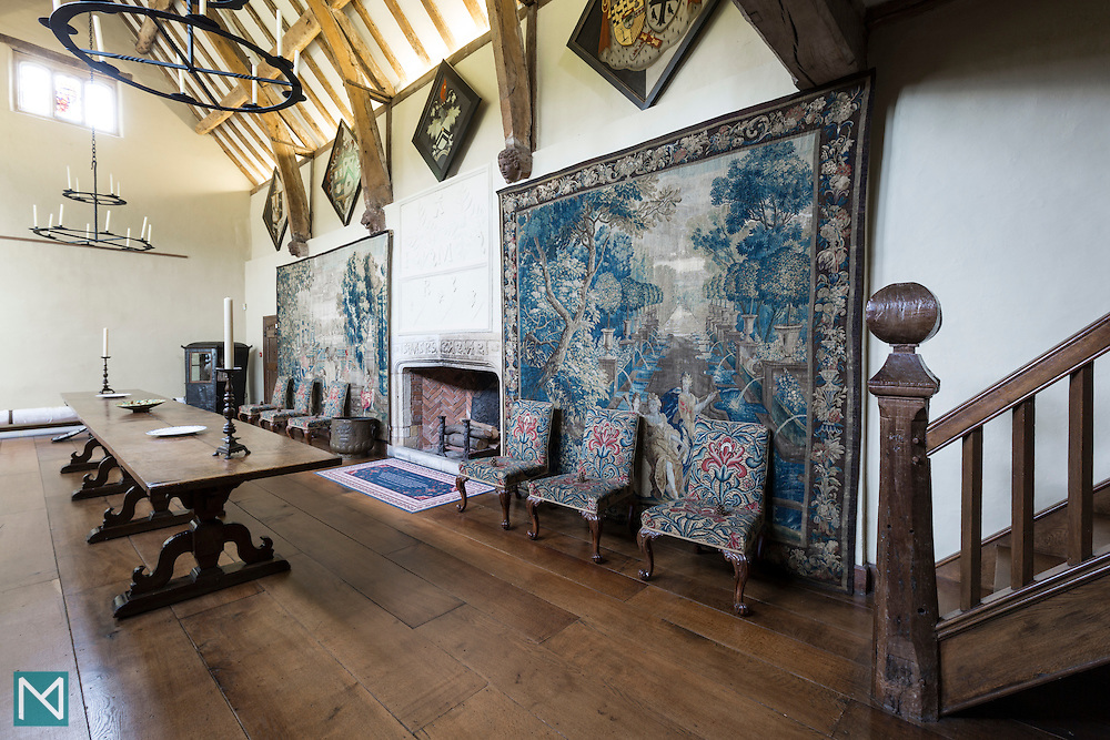 The Great Hall at Packwood House, for iWant Design and National Trust