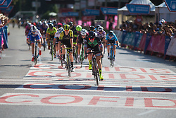 \lorwie of Parkhotel Valkenburg - Destil Cycling Team rolls across the finish line on Stage 2 of the Madrid Challenge - a 100.3 km road race, starting and finishing in Madrid on September 16, 2018, in Spain. (Photo by Balint Hamvas/Velofocus.com)