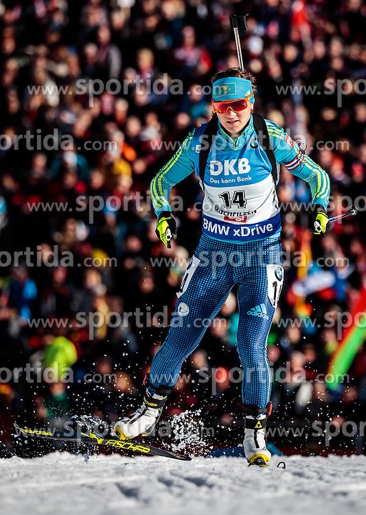 15.02.2017, Biathlonarena, Hochfilzen, AUT, IBU Weltmeisterschaften Biathlon, Hochfilzen 2017, Damen, Einzel, im Bild Galina Vishnevskaya (KAZ) // Galina Vishnevskaya of Kazakhstan // during individual women the IBU Biathlon World Championship at the at the Biathlonarena in Hochfilzen, Austria on 2017/02/15. EXPA Pictures © 2017, PhotoCredit: EXPA/ JFK