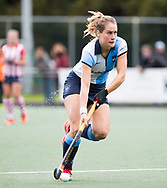 AMSTELVEEN -  Margot Zuidhof (Hurley).  Hoofdklasse competitie dames, Hurley-HDM (2-0) . FOTO KOEN SUYK