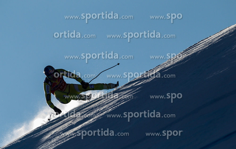 26.01.2013, Streif, Kitzbuehel, AUT, FIS Weltcup Ski Alpin, Abfahrt, Herren, im Bild  Aksel Lund Svindal (NOR) // Aksel Lund Svindal of Norway  in action during mens Downhill of the FIS Ski Alpine World Cup at the Streif course, Kitzbuehel, Austria on 2013/01/26. EXPA Pictures © 2013, PhotoCredit: EXPA/ Juergen Feichter