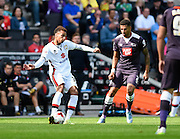 Milton Keynes Dons midfielder Josh Murphy during the Sky Bet Championship match between Milton Keynes Dons and Derby County at stadium:mk, Milton Keynes, England on 26 September 2015. Photo by David Charbit.